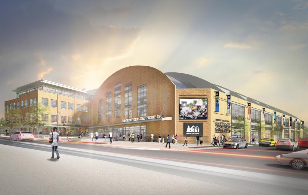 Uline Arena Douglas Development